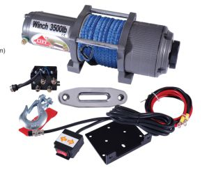 3500lbs ATV Winch 12V pictures & photos