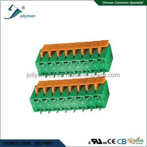 PCB Spring Terminal Block Connector 180deg Type pH5.08 pictures & photos