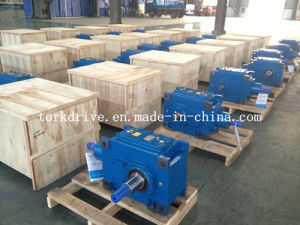 B High Power Helical Right Angle Gearbox pictures & photos