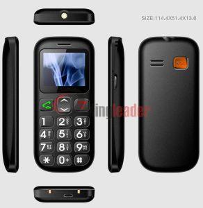 1.77inch Dual SIM Bar 3G Senior Phone (W76c) pictures & photos