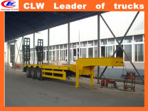 Exported African 3 Axle High Tensile Semitrailer Tri-Axle pictures & photos