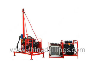 Seismic Shothole Man Portable Drilling Rig pictures & photos