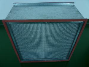 Ht Aluminum Foil Separator Pleat HEPA Filter H13 pictures & photos