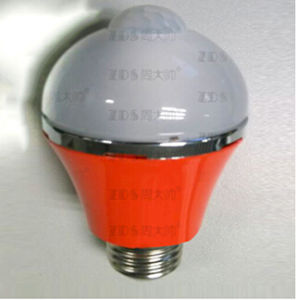 High Quality Human Body Sensing Bulb Aluminum&PC LED Bulb (ZDS004)