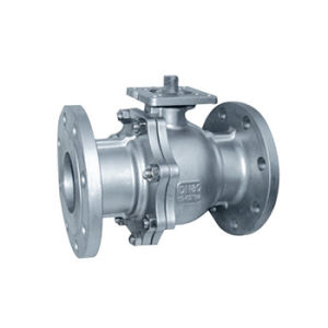 Stainless Steel Flange High Platform Ball Valve (Q41F) pictures & photos