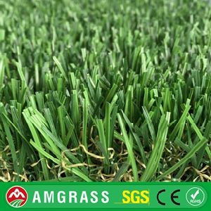 Premium Natural Green S & W Shape Landscape Synthetic Grass