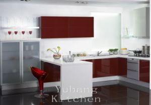 Baked Paint Kitchen Cabinet (M-L85) pictures & photos