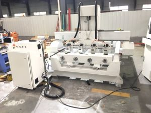 Good Quality 4 Axis Rotary Wood CNC Router Machine pictures & photos