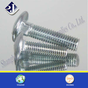 Grade 5 Zinc Plated Round Head Bolt (ASME 18.5) pictures & photos