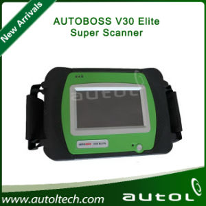 Hot Spx Autoboss Elite Car Diagnostic Tool Support Multi-Brand Vehicles Autoboss V30 Elite Build-in Mini Printer Update Online pictures & photos