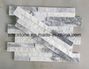 10*40cm Slim Cloud Grey Stacked Culture Stone Hhsc10X40-006 pictures & photos