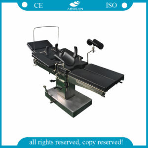 AG-Ot015 Manual Hydraulic Ce&ISO Approved Hospital Bed Table pictures & photos