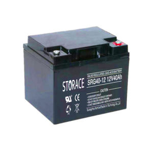 Rechargeable Gel Battery SRG40-12 12V40ah Hybrid Battery (SRG40-12) pictures & photos