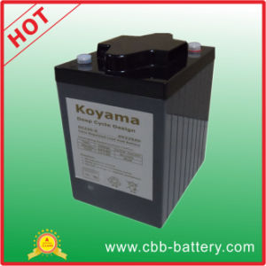 225ah 6V Deep Cycle Gel Battery for European Golf Cart pictures & photos