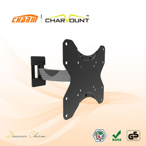 2017 Top Quality Full Motion LCD TV Wall Bracket, LCD TV Base Stand Bracket (CT-LCD-T1201) pictures & photos