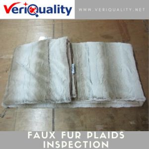 Faux Fur Plaids Quality Control Inspection Service at Shaoxing, Zhejiang pictures & photos