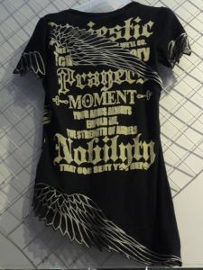Fashion Print T-Shirt (HHY F -1)