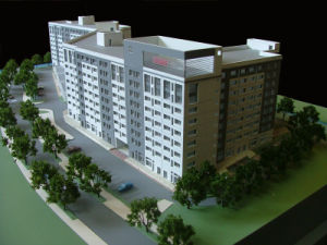 Miniature Architectural Model Maker_Commercial Models (JW-129) pictures & photos