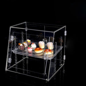 Top-Grade Acrylic Bakery Display Showcase pictures & photos