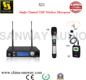 S21 UHF Single Channel High Power Wireless Microphone pictures & photos