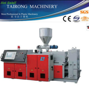 Conical Double Screw Extruder/Double Screw Extruder/Plastic Extruder pictures & photos