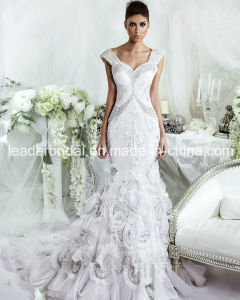 Crystals Wedding Dress Ball Gown Mermaid Bridal Wedding Gown Ld11533 pictures & photos