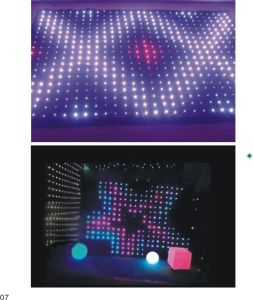 3*4m LED Video Cloth Vision Curtain with Ce Party Decoration pictures & photos