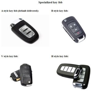 Can-Bus Smart Key Push Button Remote Start Car Alarm System