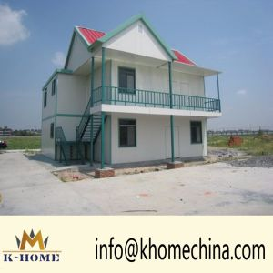 Easy Transportation and Installation Prefabricated House, Light Steel Villla pictures & photos