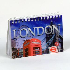 London Souvenir Good Quality 3D Notebook Promotions pictures & photos