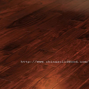 Pre-Finished Solid Acacia Wood Floors (SW-6595)