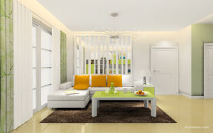 Free Design Apartment Project Wood Grain Living Room Furniture (zk-004) pictures & photos