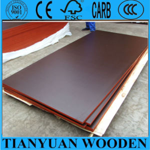 1220*2440mm Finger-Joint Plywood Black/Brown Film Faced Plywood pictures & photos