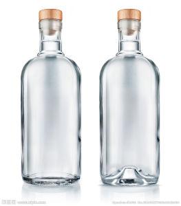 Rey Goose Vodka Glass Bottle