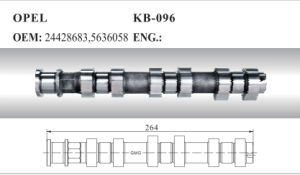 Camshaft 24428683, 5636058 for Opel pictures & photos