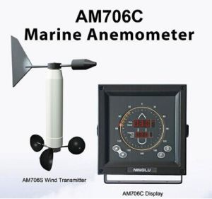 Marine Anemometer, Wind Meter with Alarm Functions