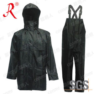 High Quality Breathable Rain Suit (QF-733) pictures & photos