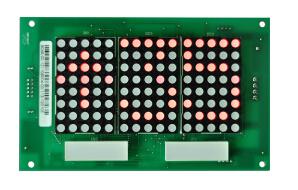 Super Light Big DOT Matrix Landing Call Display Board (Horizontal)