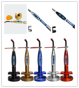 Digital Rainbow Colourful Dental LED Curing Light pictures & photos