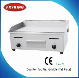 Counter Top Electric Half Flat Half Grooved Griddle pictures & photos