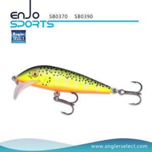 9cm Stick Bait Shallow Fishing Tackle Lure with Vmc Treble Hooks pictures & photos