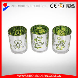 Wholesale Luxury Electroplated Glass Candle Holder pictures & photos