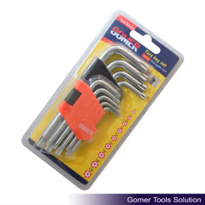 9PCS Torx Key Made of High Quality Steel (T01386)