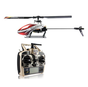 3D Single Blade Mini 2.4G 6CH RC Helicopter Model with Servos and Mems Gyro. (Brushless)