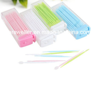 Disposable Colorful Plastic Oral Toothpick pictures & photos