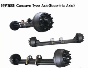 Concave Type Axle Trailer Axle pictures & photos