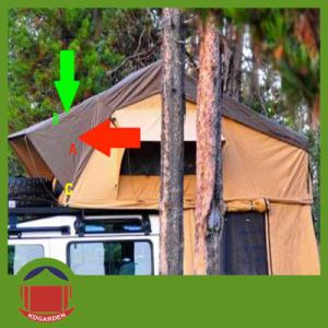 Hot Selling Customer 280g Ripstop Canvas Cover Outdoor Camping Tent pictures & photos