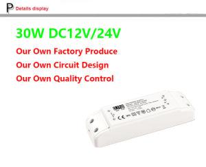30W 12V 24V High Efficiency LED Power Supply, IP20 Power Supply, LED Strips Power, LED Transformer 30W, Constant Voltage LED Driver, 12V 24V 30W LED Transformer pictures & photos