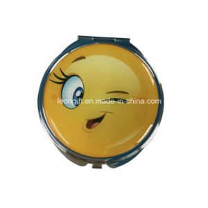 Newest Design Emoji Cheapest Cosmetic Mirror Wholesale pictures & photos