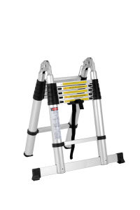 1.6m+1.6m Telescopic Aluminum Step Ladder pictures & photos